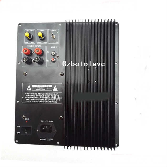 high-power 220V 600W pure bass amplifier board home theater speaker amplifier board low soundboard high power amplifier single bridgerectifier filtering power supply board 25a
