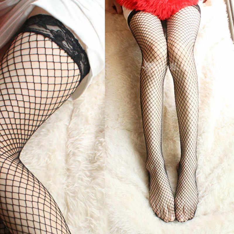 3pairs/Lot Sexy Women Stocking calcetines largos  Sheer Thigh Silk Stockings botas cano longo femininas fish net stocking A589