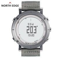 NORTHEDGE цифровые часы мужские спортивные часы Рыбалка погода альтиметр барометр термометр компас высота Пешие прогулки часы