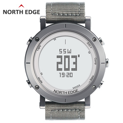 NORTHEDGE <font><b>digital</b></font> watches Men sports watch <font><b>clock</b></font> fishing Weather Altimeter Barometer Thermometer Compass Altitude hiking hours