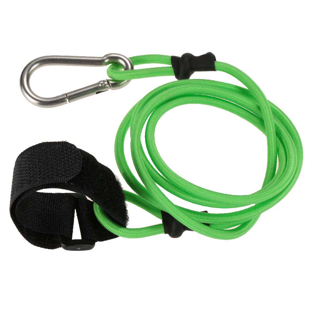Kayak Leash Fishing Rod Lanyard Inflatable Boat Bungee Cord /& Keychain Hook