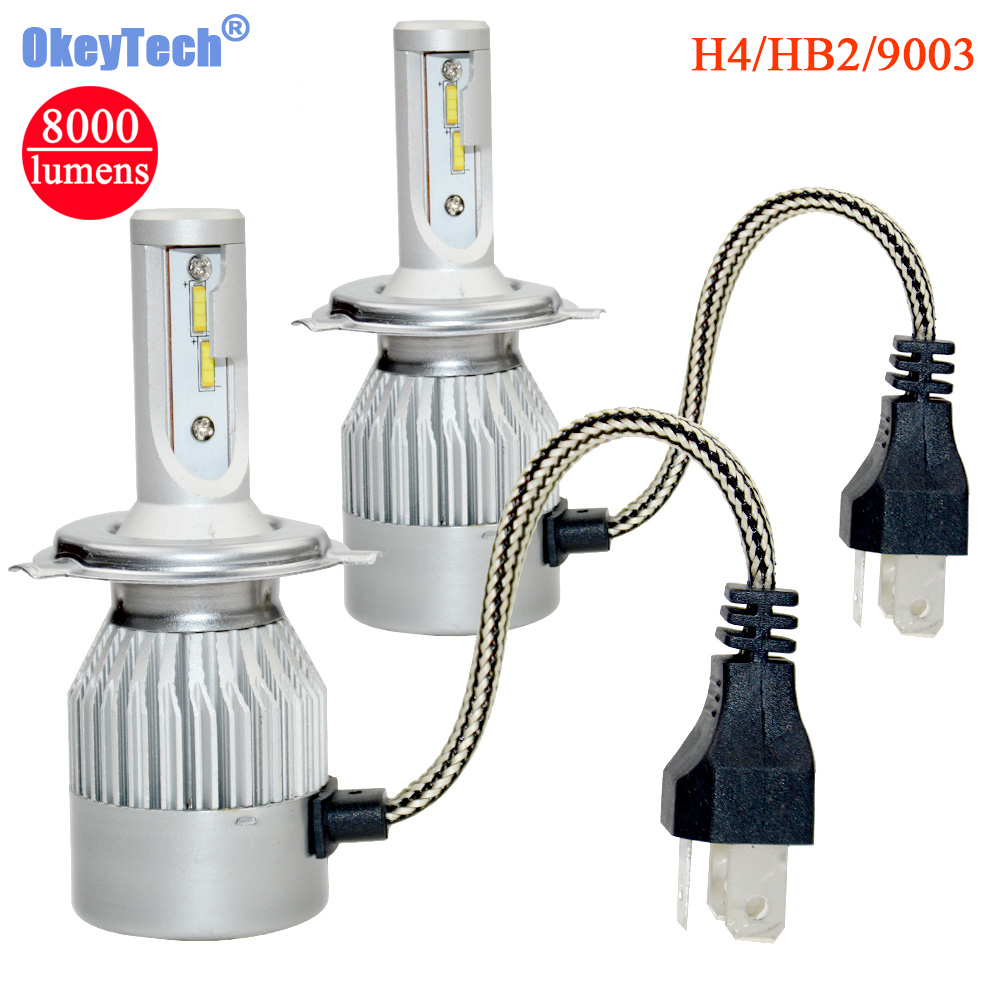 New H7 LED Auto Headight 72W 8000LM 6000K Chips CSP LED Car Headlamp Car Styling Lamp