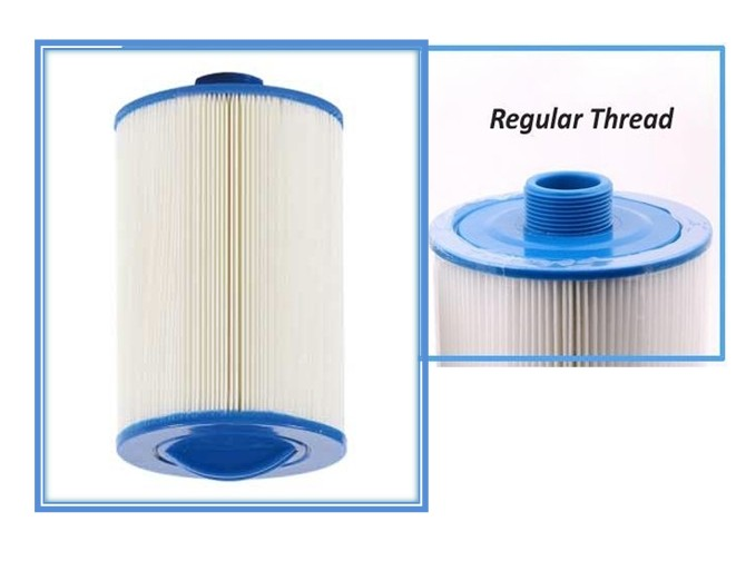 Spa Hot Tub Filter With Regular Thread - Darlly: 60471 Pleatco: PTL47W Unicel: 6CH-47 SC709