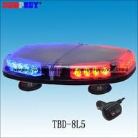 Dempsey High quality LED mini lightbar,Car Roof Flash Strobe,Magnets,12/24V Car Flashing Emergency Warning Police Light(TBD-8L5)
