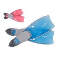 Adult Flexible Comfort Long Flippers Snorkeling Silicone Swimming Fins 2 Colors S M L XL XXL