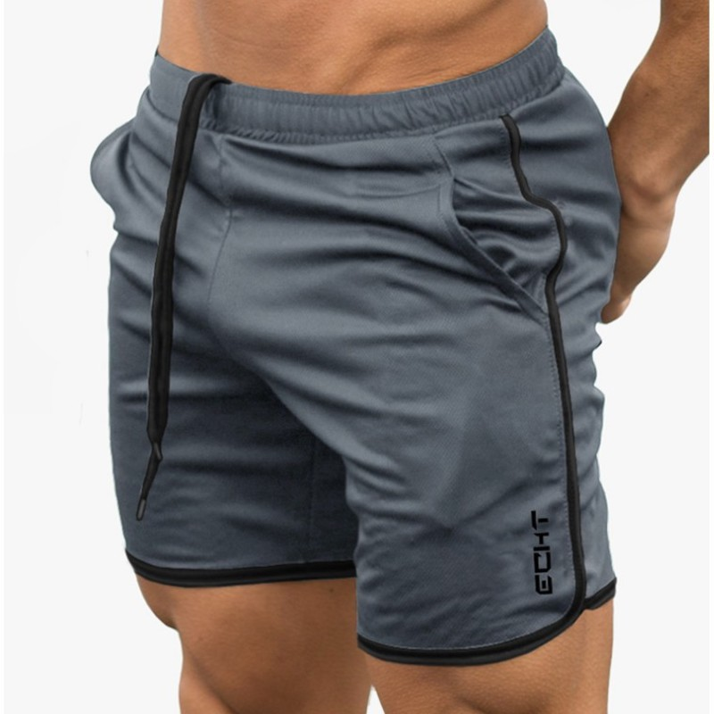 Men Shorts Basketball Training-Trousers Fitness Quick-Drying Breathable Summer Man Male