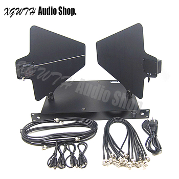 Engineering UA845 + UA874WB Active Directional Antenna & Splitter Amp System Kit Antenna Amplifier Distribution for Wireless Mic