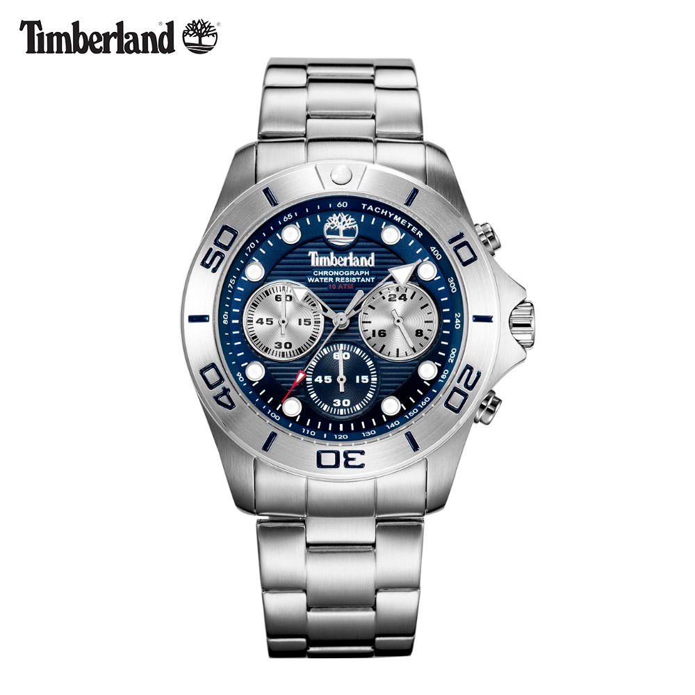 Timberland Mens Watches  Chronograph Casual Quartz Complete Calendar Water Resistant Mens Watches T13909