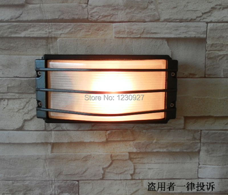 Outdoor waterproof wall lamp fashion balcony lights entrance lights stair lamp yard wall lamp outdoor Wall lamp fixture