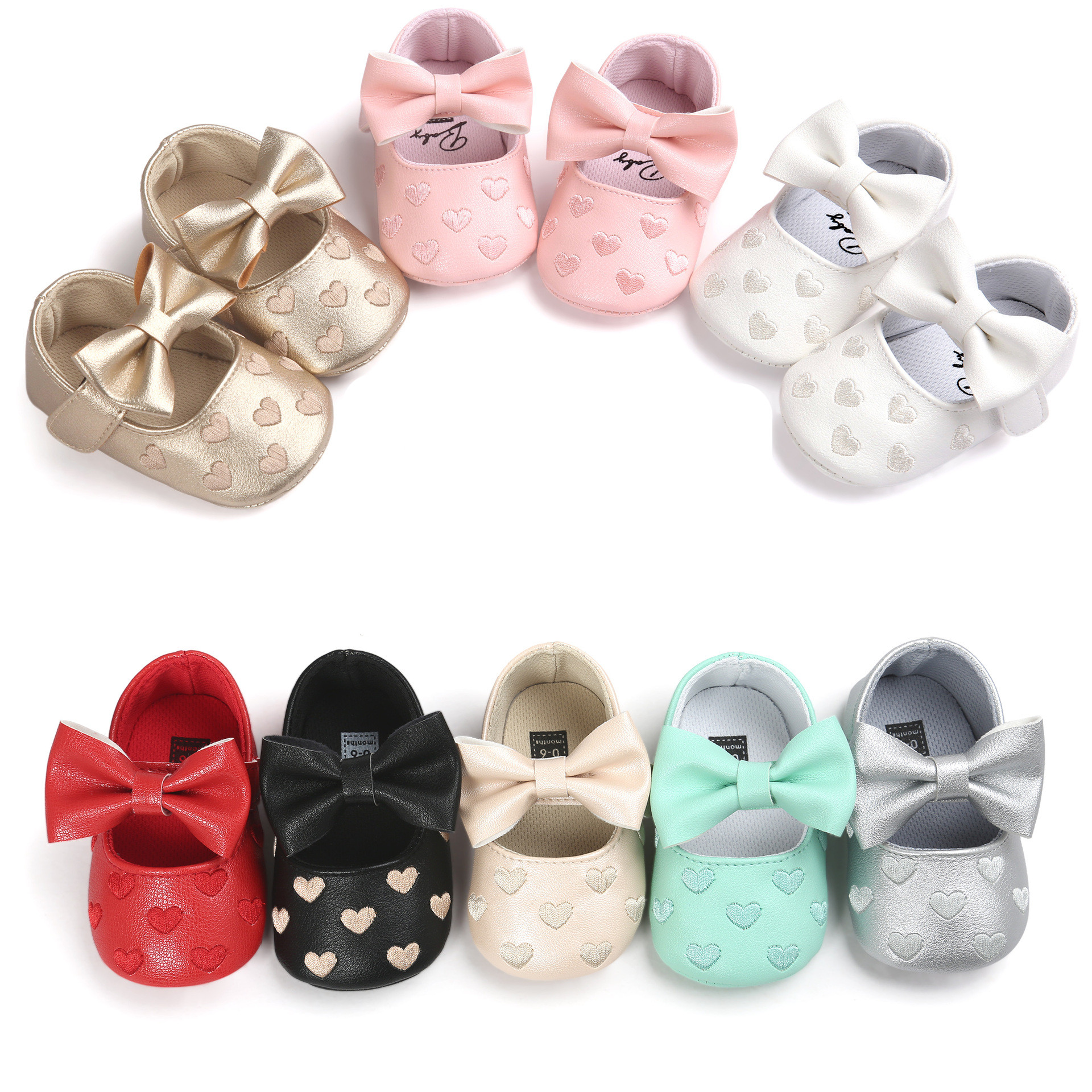 Aliexpress Buy baby girl shoes first walkers love slip baby
