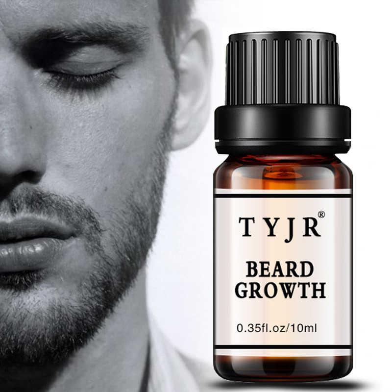 Doğal organik sakal yağı 10ML Erkekler sakal uzatma Sıvı Sakal Balmumu balsamı Saç Kremi bakım Için Saç Büyüme uçucu yağ