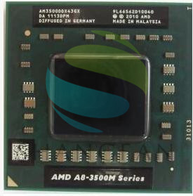 AMD Quad-Core A8-3500M 1.5 Ghz/4 M Socket FS1 A8 3500 M AM3500DDX43GX A8-Series portable APU Ordinateurs Portables ordinateur portable
