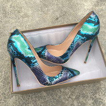 Free shipping  fashion women pumps snake printed patent leather pointed toe high heels shoes boots pumps 12cm 10cm 8cm Stiletto free shipping fashion women pumps casual green patent leather printed pointed toe high heels shoes 12cm 10cm 8cm stiletto heels
