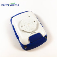 Skylarpu Blue Rear Cover For GARMIN EDGE 500 Bicycle Speed Meter Back Cover With Battery Repair