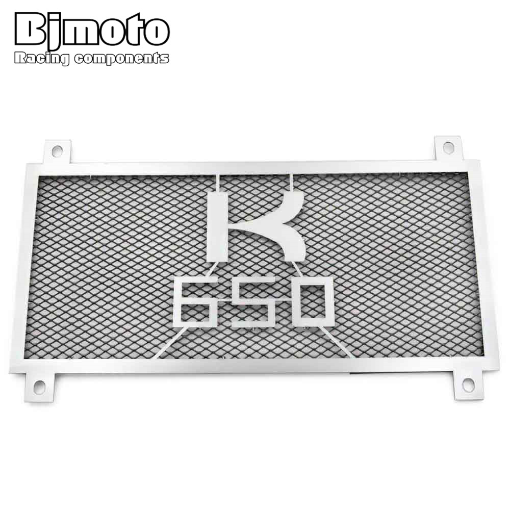 BJMOTO Stainless Steel 304 Motorcycle Radiator Guard Radiator Grille Cover For For Kawasaki Z650 2017 motorcycle radiator grill grille guard screen cover protector tank water black for bmw f800r 2009 2010 2011 2012 2013 2014