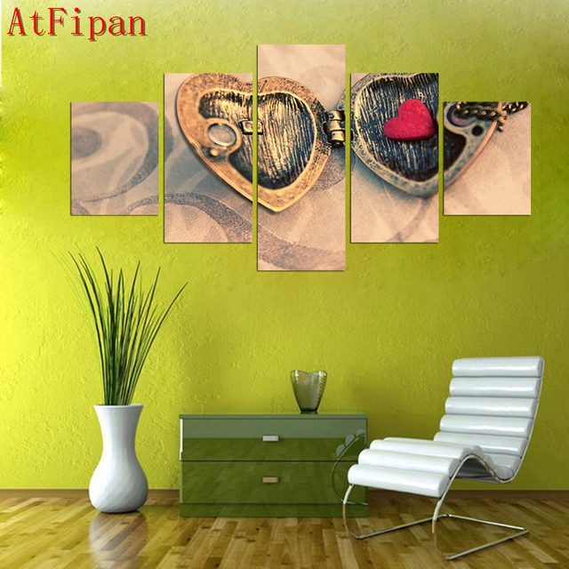 Online Shop Canvas Print Picture Painting Wall Art Spray Paint 5 ...