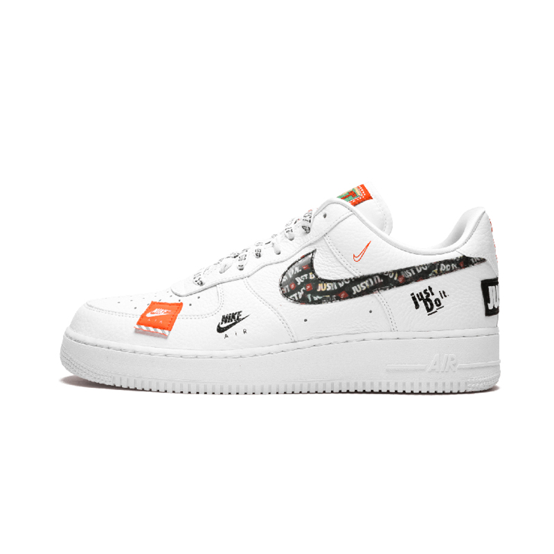 Nike White Air Force 1 Just Do It Sneakers for men