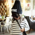 2016 Fashion Double Hair Ball Knitting Children Hat Warm Cap Baby Plus Children Winter Hat For Girl&Boy Crochet Skullies Beanies