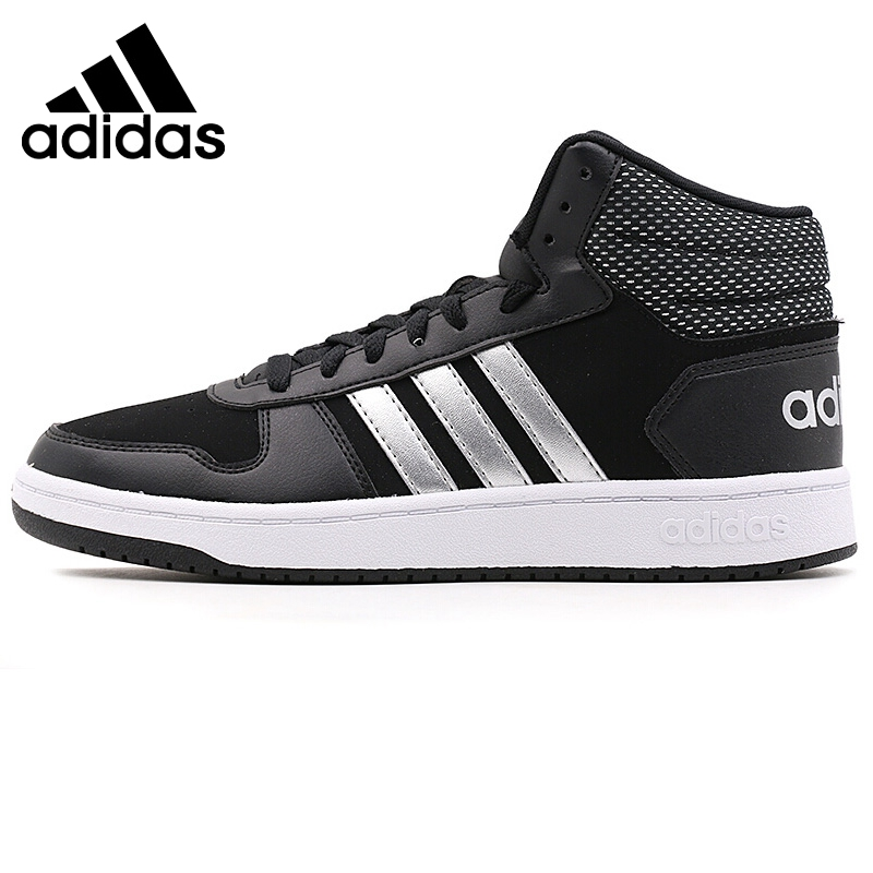 Original New Arrival 2018 Adidas HOOPS 2.0 MID Mens Basketball Shoes Sneakers
