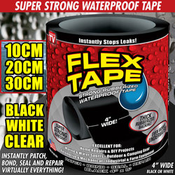 New Arrival 10cm 20cm 30cm Wide 3 Colors Flex Tape Strong Rubberized Waterproof Tape Hose Repair Connectors