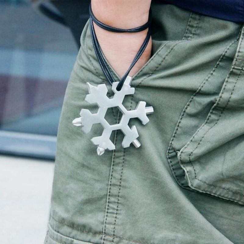 With, Keychain, Multi-tool, Wrench, Hex, Bottle