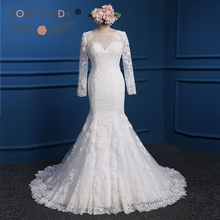 Rose Moda Mermaid Wedding Dress Muslim Wedding Dresses