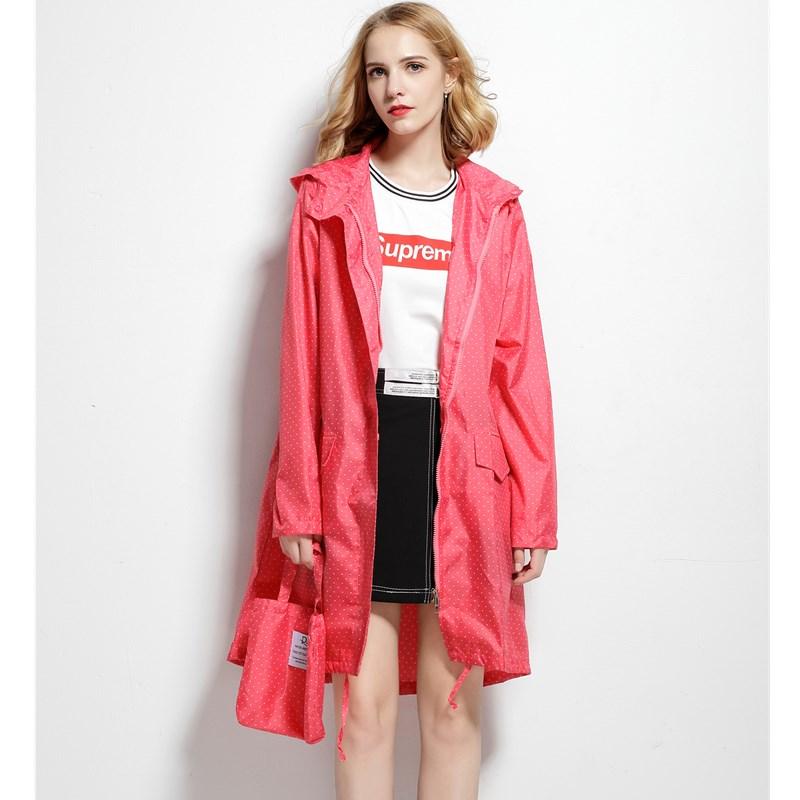Hood esőkabát nők vízálló hosszú, szabadtéri utazás nők eső kabát esőruházat Ponchos kabát vízhatlan Mujer Capa De Chuva