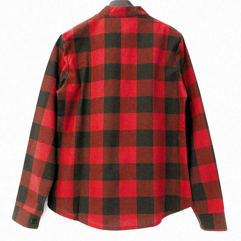 IYAEGE блузка женская 2019 весна клетчатые рубашки Повседневная блуза с длинным рукавом Сексуальная кружевная Офисная Женская блузка Туники женские блузки 5XL