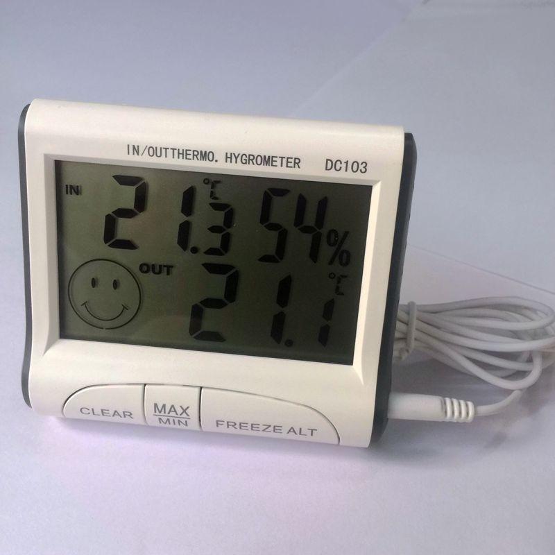 داغ !!! مینی ایستگاه هواشناسی LCD دماسنج - ابزار اندازه گیری