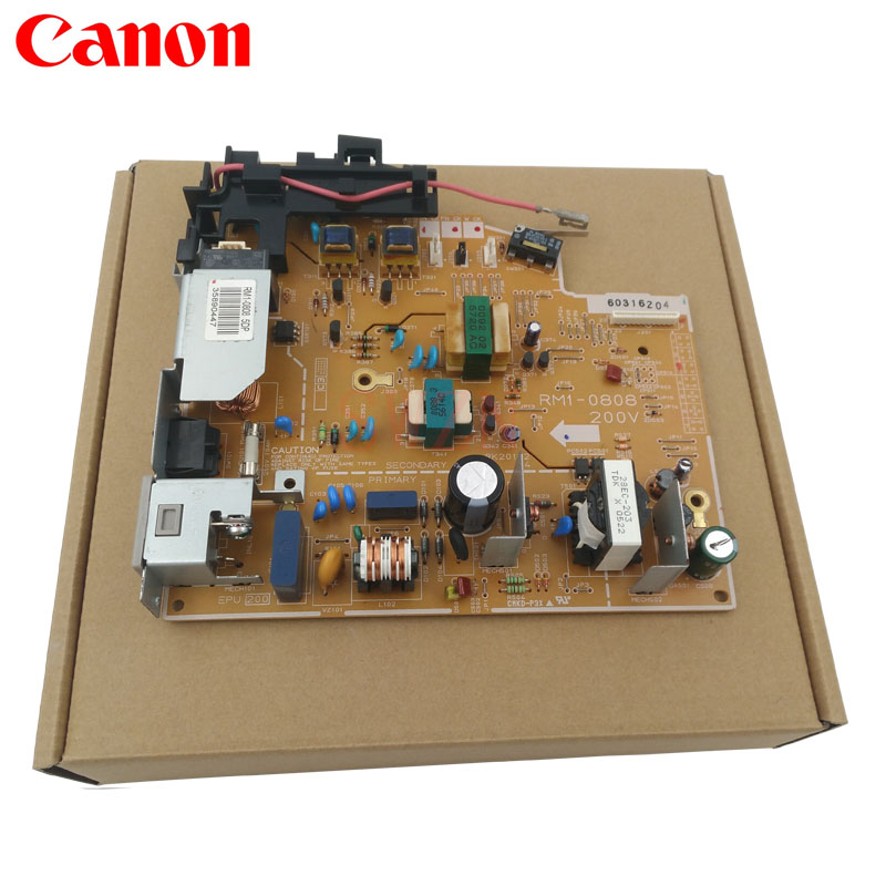 Printer Power Supply Board Used Canon  RM1-0808 RM1-0808-000 (220V) RM1-0807-000 RM1-0807 (110v) free shipping 100% test original for hp4345mfp power supply board rm1 1014 060 rm1 1014 220v rm1 1013 050 rm1 1013 110v
