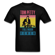 Tom Petty Full Moon Fever T-shirt Mens and Womens Cotton printing Shirt Big Size S-XXXL