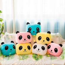 Panda Plush Pillow Cushion Glow In The Dark Battery Stuffed Animals Toys Home Decor Decoration Design Gift Soft