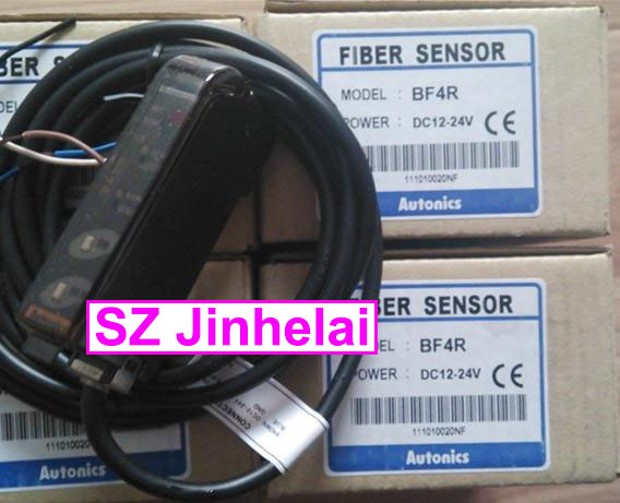 100% New and original BF4R  AUTONICS  FIBER SENSOR  Optical fiber amplifier  12-24VDC new and original e3x da11 s omron optical fiber amplifier photoelectric switch 12 24vdc