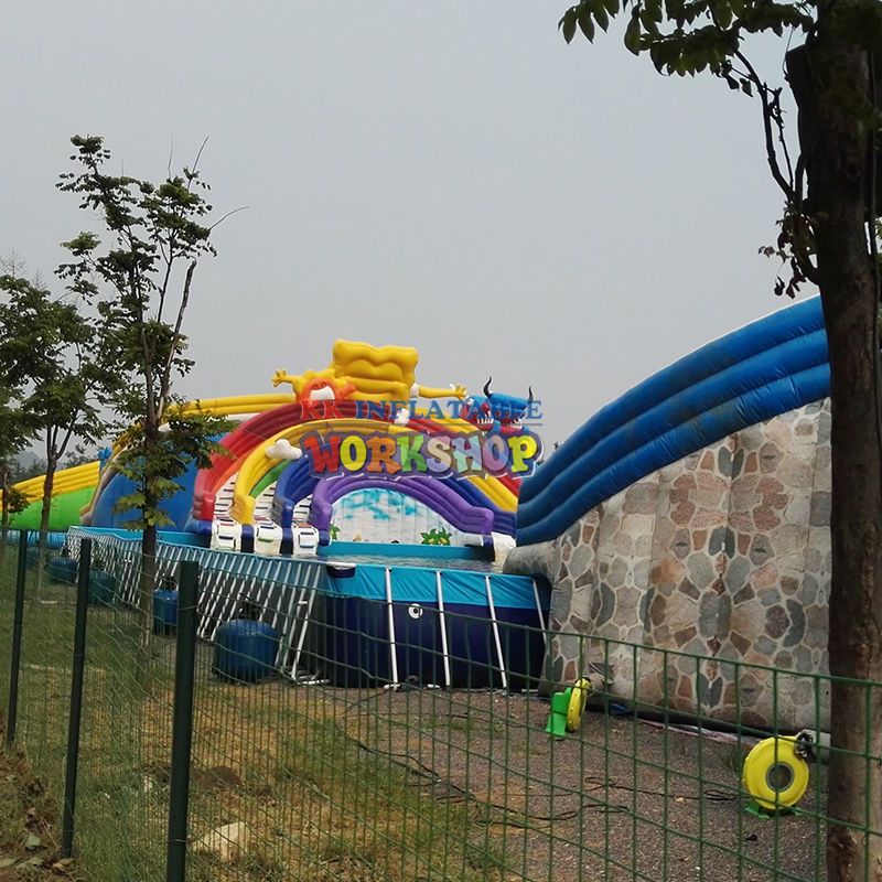 inflatable water equipment, ground inflatable water attractions