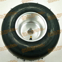 Vacuum tire wear 168 go kart 5 inch wheels beach car accessories drift wheel 10X4.5 5 kart tire highway hub