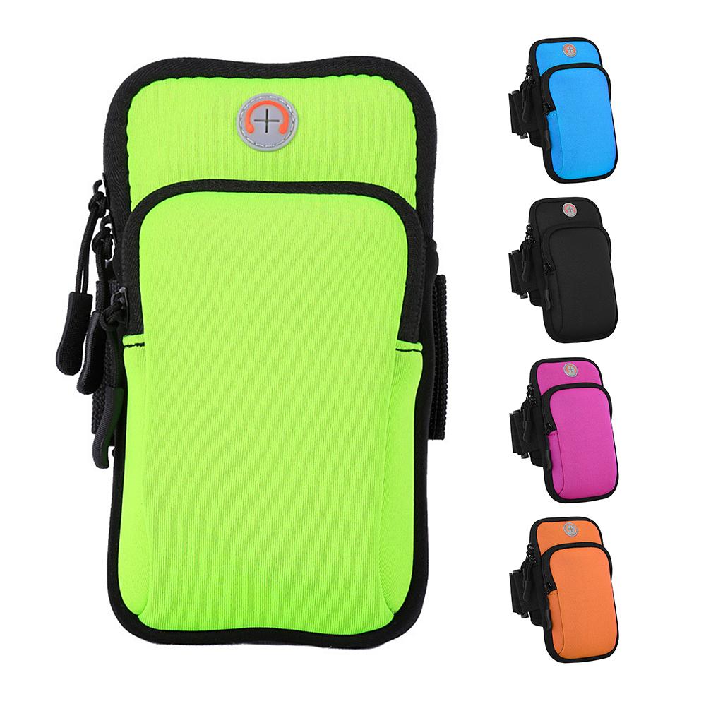 2018 Running Sport Bags Men Women Mobile Phone Arms Package Sport Equipment Jogging Run Bag Accessories Outdoor Climbing Arm Bag 13