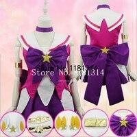 Anime LOL The Lady Of Luminosity Lux Cosplay Costumes Sailor Moon Puella Magi Madoka Magica Fancy