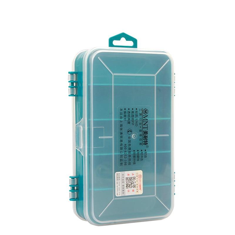 13 Mini scatola di parti durevoli Scatole di strumenti elettronici - Portautensili - Fotografia 4