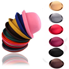 Feitong Men Women Vintage Wool Cute Trendy Bowler Derby Fashion Hat Double Eleven New Arrival Discount