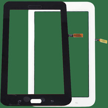 New For Samsung galaxy tab sm-t113 Touch Screen Digitizer Sensor Glass Panel Tablet PC Replacement Parts White/Black