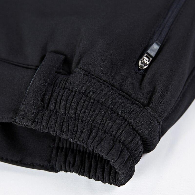Pantalons de randonnée chauds pour femmes pantalons de survêtement en extérieur à coque souple doublure polaire pantalon d'hiver nouvelle dame pantalons de Camping Trekking - 5