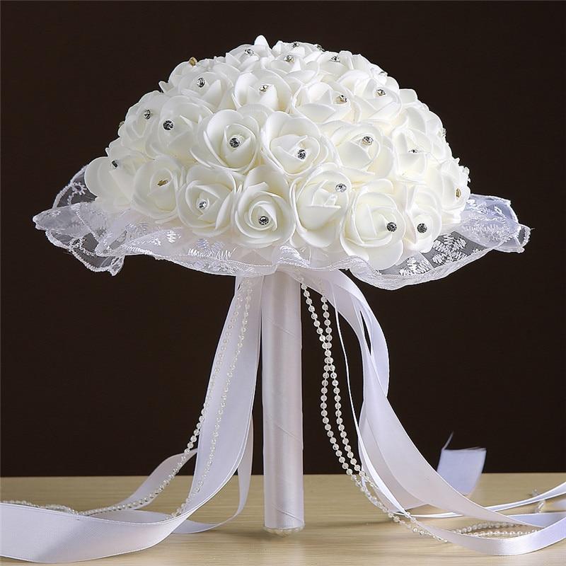 Wedding Bouquet Artificial Foam Flower Holder Flowers Bridal Bouquets Bridesmaids Accessories