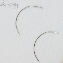 24pcs C style hair weave needle for Brazilian Indian Hair Weft Extension Weaving Type Curved Thread Sewing Salon styling tools