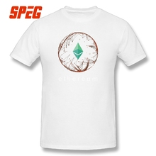 Crypto Mining Tee Mine Your Own Ethereum Revolution Blockchain T Shirt Cryptocurrency Short Sleeves Men's T-Shirts O-Neck