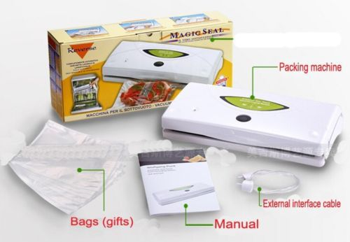 Волшебная печать продовольственной вакуумной упаковки запайки машина Smart влажных ламинатор 220 В дома продовольствия sealer