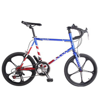 Mountain Bike BMX 16 Speed 20 13 Aluminum Alloy Mountain Bicycle Complete Fixed Gear Folding Bicycle
