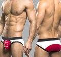Moda Homem Dos Homens Briefs U Convex Underwear Modal Low-Cintura Levante Hip Roupa Em Casa Gay Calzoncillos Cueca