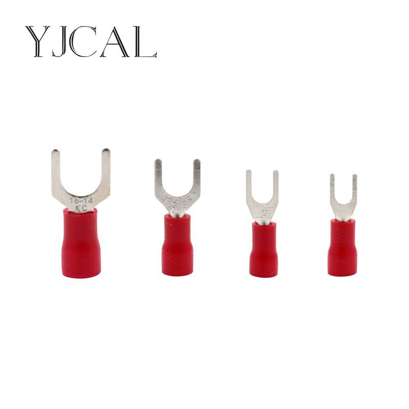 1000PCS Red Crimp Terminal <font><b>SV1.25</b></font>-3 <font><b>SV1.25</b></font>-4 <font><b>SV1.25</b></font>-5 <font><b>SV1.25</b></font>-6 Combination Cable Wire Connector Ring Insulated Terminal Block image