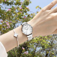 Luxury Silver White Women Watch Casual Fashion Wrist Watch For Ladies Female Wristwatch Waterproof reloj mujer relogio feminino