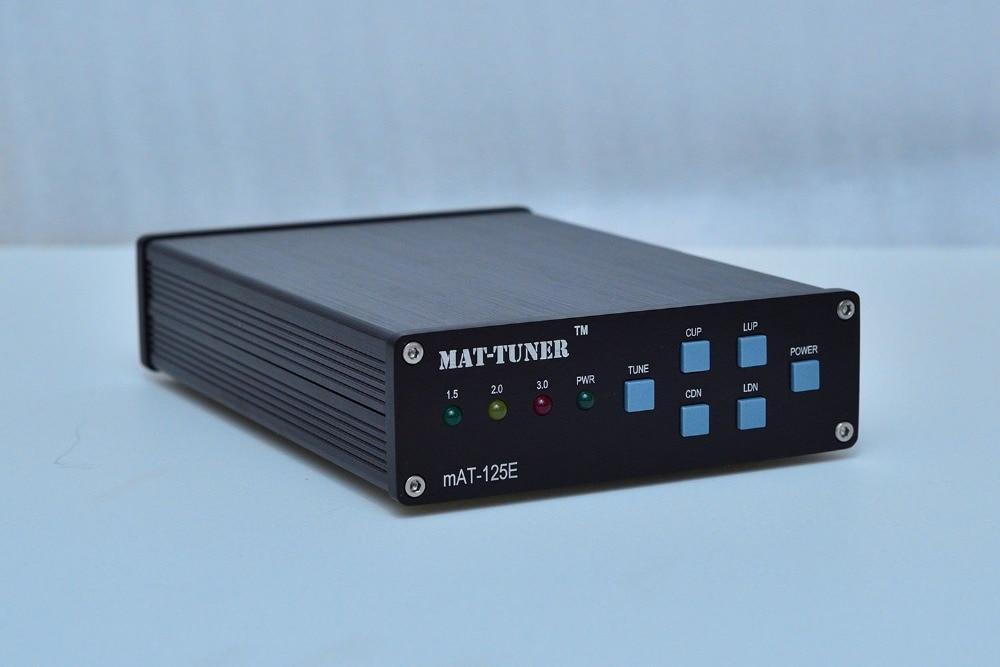 120 W mAT-125E mAT125E HF antenne Auto-tuner 120 W AUTO TUNER antenne automatique pour Radio jambon + alimentation